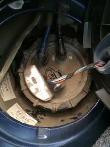 pompa de benzina skoda fabia